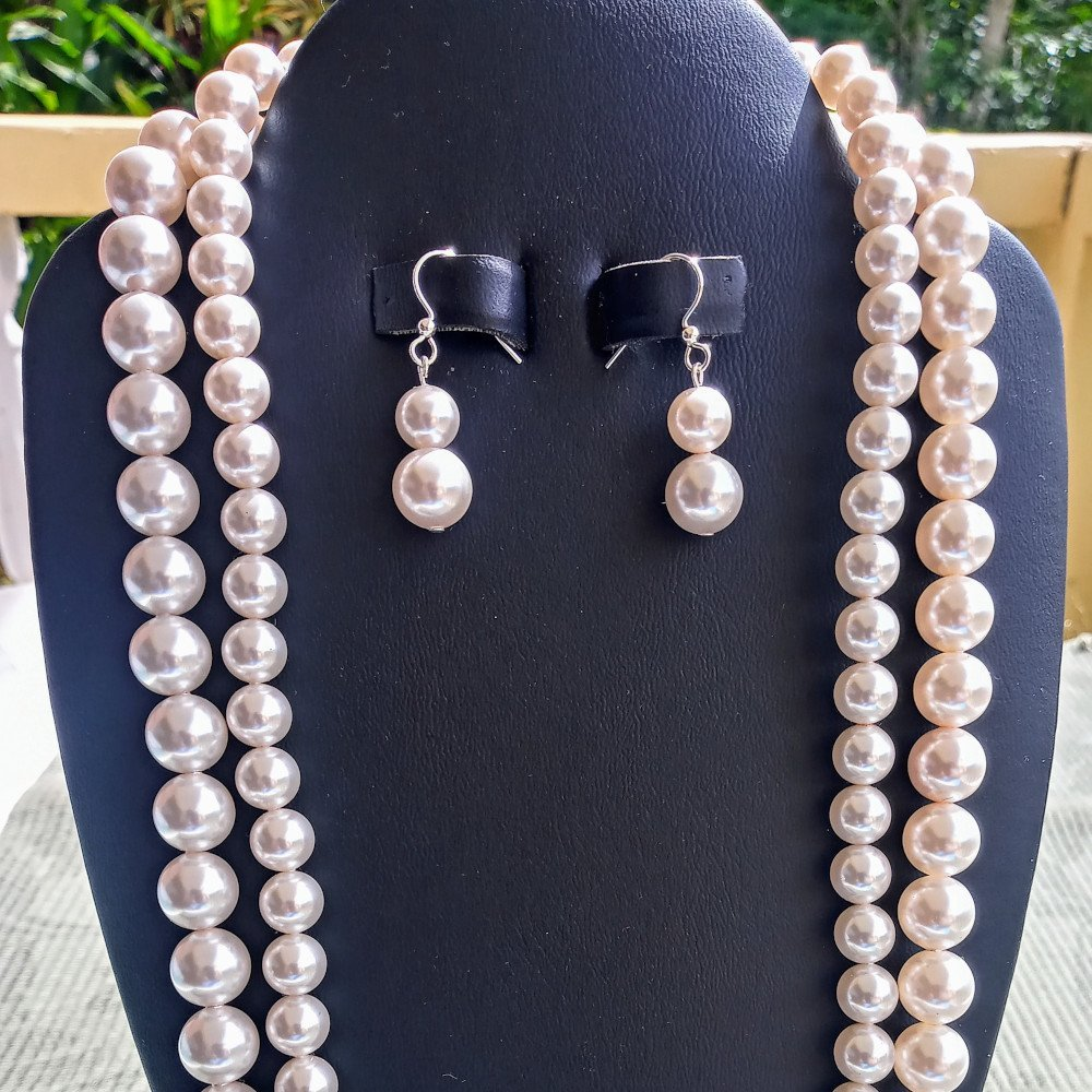 Handmade Double-Strand Necklace Sets